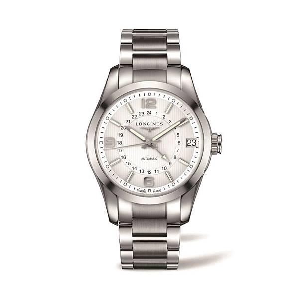 6. 征服者經典系列兩地時間腕錶L2.799.4.76.6 NT$83,300