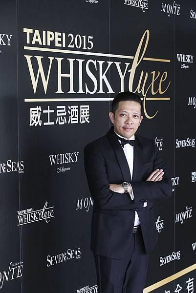 「Whisky Luxe 威士忌酒展」及「Taipei Bar Show 國際調酒展」主辦人黃培峻 1