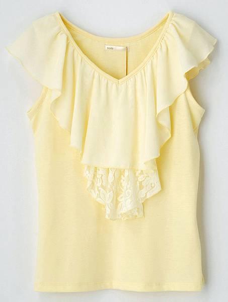 統一阪急台北店_nuee女款蕾絲圍領上衣 原價1,990元 特價680元 限量10件