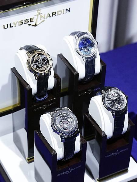 新聞圖說2_瑞士雅典錶2015頂級複雜腕表媒體鑑賞會大錶盡現