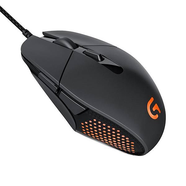 【圖二】G303 Daedalus Apex™高效能遊戲滑鼠,外型與性能的完美搭配。