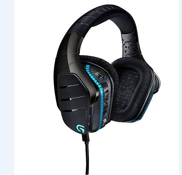 【圖一】G633 Artemis Spectrum™ RGB 7.1聲道環繞音效遊戲耳機麥克風,真正立體的遊戲聲光世界。