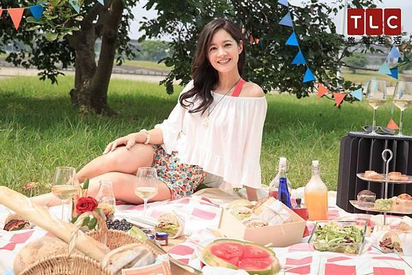 新手人妻Janet表示,第三屆的TLC台北野餐日,要大家發揮自己的創意,盡情享受藍天白雲的野餐盛會