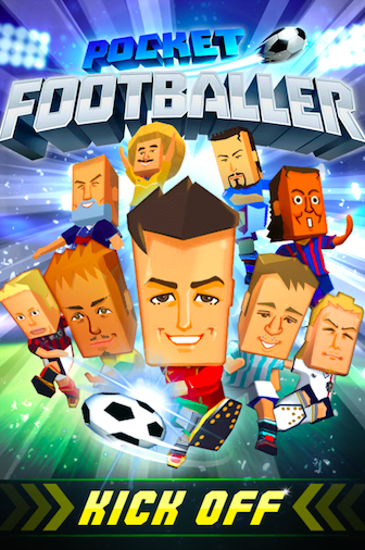 01 KAYAC開發的《Pocket Footballer》在香港及英語系國家正式上線