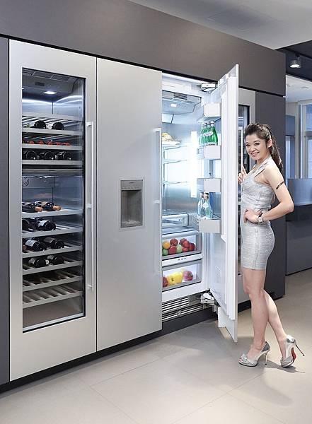 新聞圖說2_GAGGENAU Vario 400系列客製化嵌入式冰箱