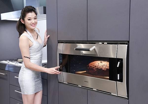 新聞圖說3_GAGGENAU 經典90公分寬烤箱