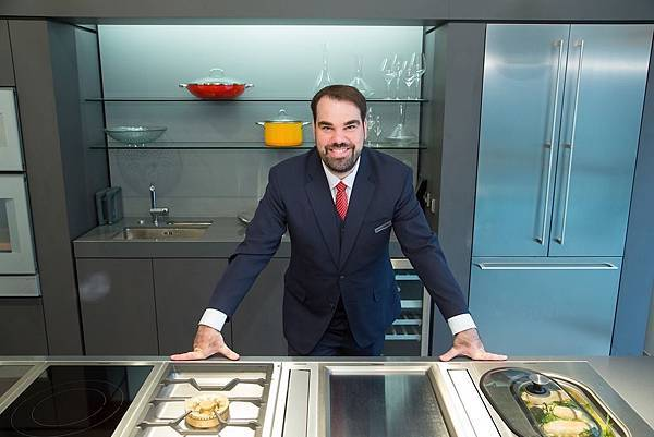 新聞圖說1_頂級廚具品牌GAGGENAU 台灣區董事總經理Martin Jaeger