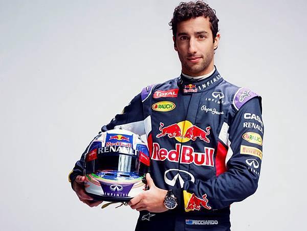 Infiniti Red Bull Racing Team車手_Daniel Ricciardo