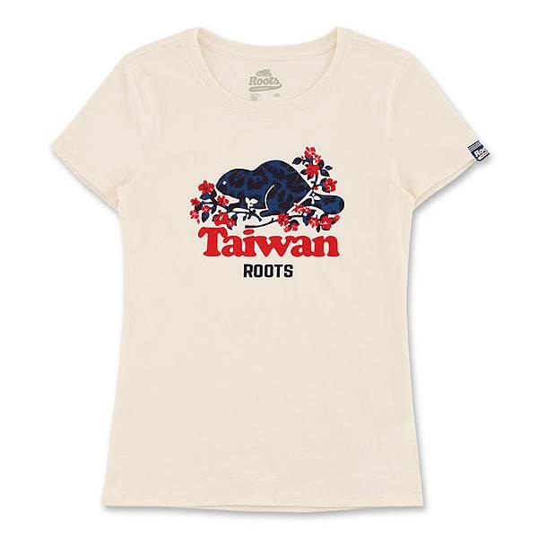 (女裝)Roots 104年Taiwan Day紀念系列-短袖T恤-$1780