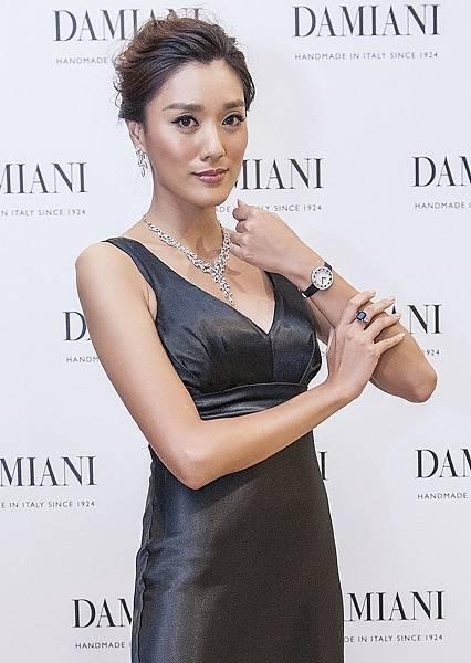 5. 名模許捷羚展演DAMIANI高級訂製珠寶