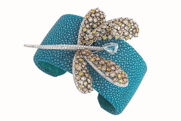 8. ANIMALIA華麗動物園系列 蜻蜓手環,建議售價 NTD$2,080,000