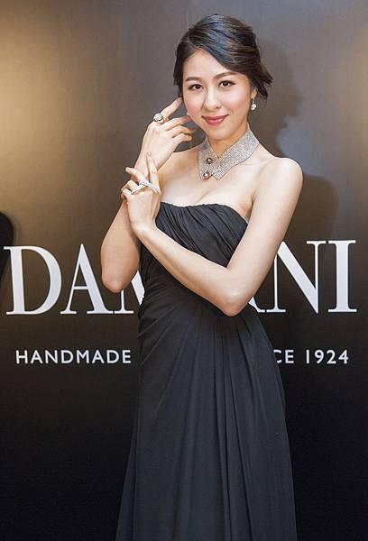 2. 名模萬玲衣展演DAMIANI高級訂製珠寶
