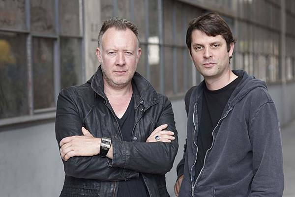URWERK的兩位創辦人Martin Frei(左)與Felix Baumgartner。
