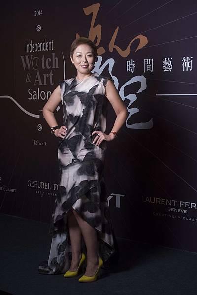 葳鑠有限公司台灣區總經理沈曉慧,同時也是「匠心.獨具」時間藝術展的創辦人。