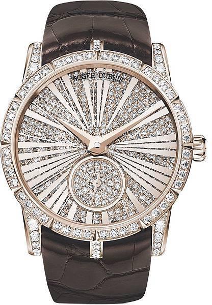 Excalibur 自動上鍊鑲鑽腕錶 NT.2,600,000