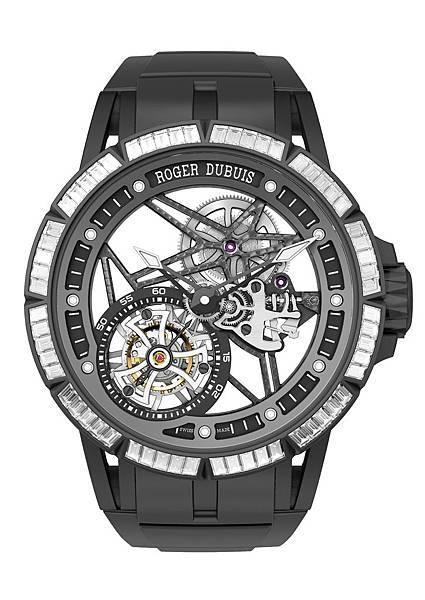 Excalibur 鏤空飛行陀飛輪腕錶 NT.6,220,000