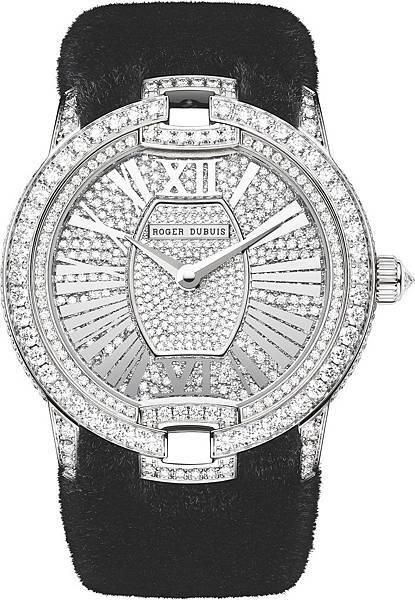絕世名伶系列純正貂毛腕錶 NT. 3,205,000