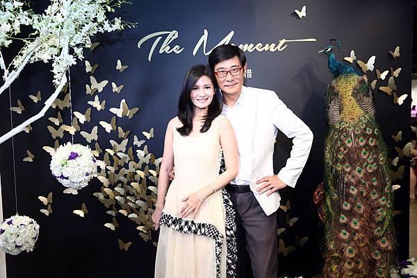 Samsung Galaxy The Moment 真實.珍惜 攝影展 被攝者 羅芙奧藝術集團董事長王鎮華先生與夫人侯懿恬女士