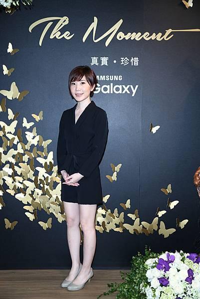 Samsung Galaxy The Moment 真實.珍惜 攝影展 被攝者 藝術家何采柔小姐