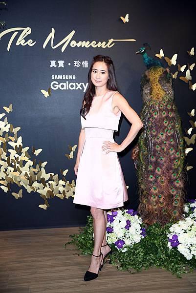 Samsung Galaxy The Moment 真實.珍惜 攝影展 被攝者 服裝設計師 李晶晶小姐