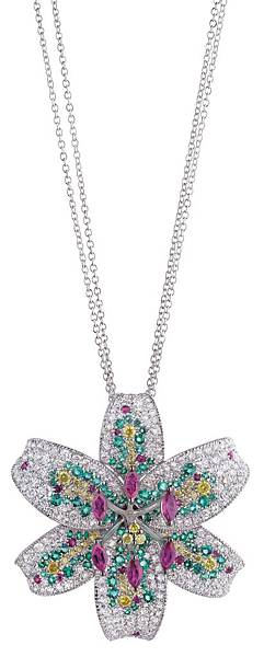 11. GIGLIO系列白金項鍊,建議售價NTD$ 1,060,000