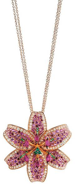 10. GIGLIO系列玫瑰金項鍊,建議售價NTD$ 860,000