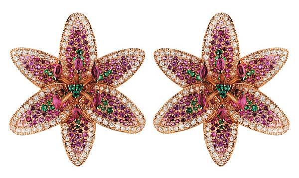 7. GIGLIO系列玫瑰金耳環,建議售價NTD$ 1,066,000