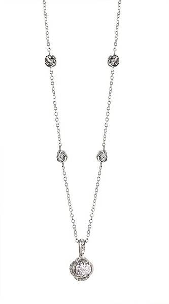 3. BOCCIOLO系列全鑲鑽項鍊,建議售價請店洽