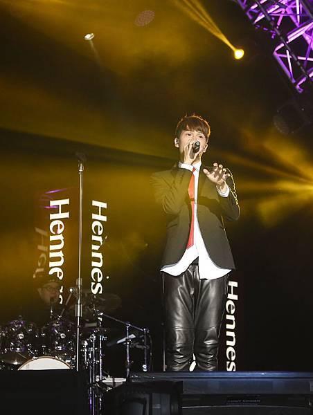 宇宙人為2015軒尼詩炫音之樂熱力演唱.2