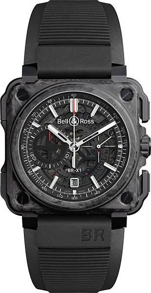 Bell & Ross BR-X1 Carbone Forge腕錶,建議售價NT$760,200