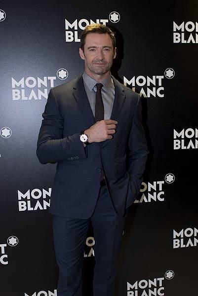萬寶龍品牌大使休傑克曼出席2015 Watches & Wonders亞洲高級鐘錶展萬寶龍活動