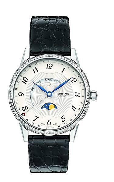 112555 萬寶龍寶曦月苑精鋼鑲鑽腕錶,NT$205,300