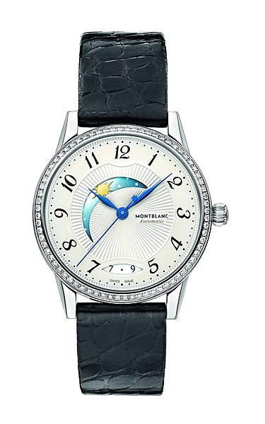 112500 萬寶龍寶曦系列日夜顯示精鋼鑲鑽女仕腕錶,NT$153,900