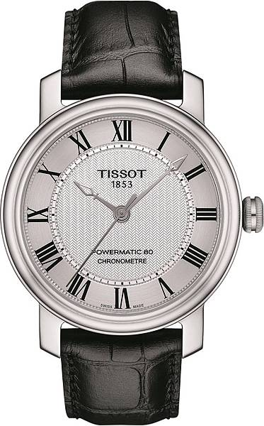 圖3.天梭表Bridgeport港灣系列腕錶