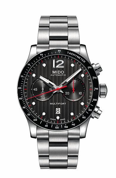 Multifort Chronograph Caliber 60先鋒系列60小時測速計時腕錶 M025.627.11.061.00 NT61,100