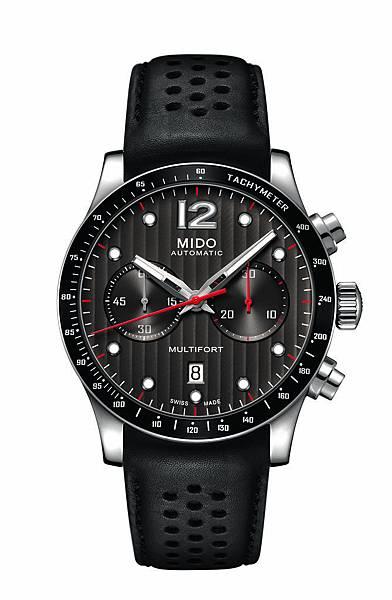 Multifort Chronograph Caliber 60先鋒系列60小時測速計時腕錶 M025.627.16.061.00 NT59,000