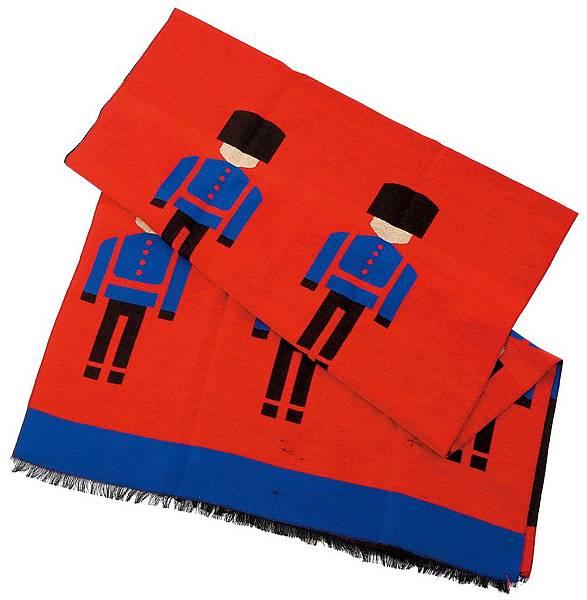 統一阪急台北店_娃娃兵可愛圍巾 原價2,280元 推薦價1,899元