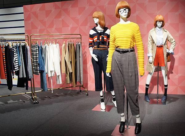 GU 2016春夏東京展示會_每月時尚主題故事:「UP TOWN RETRO復古學院風」