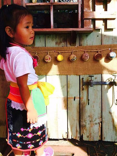 台東都蘭薪傳舞團的小朋友