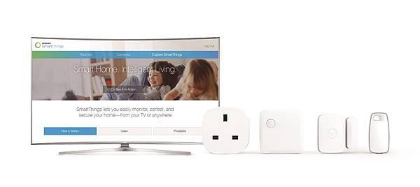 Samsung 2016 SUHD TV超4K電視均將搭載IoT hub,使電視成為整個智慧的控制中心