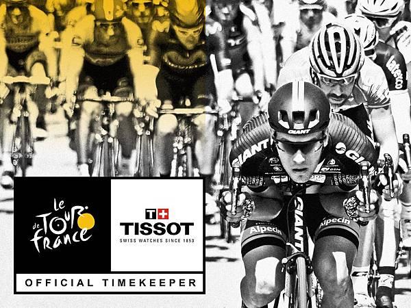 圖1. 斯沃琪集團(Swatch group)成員天梭表再次榮任環法自行車賽(Tour de France)官方指定計時廠商,同時牽手Amaury Sport Organisation營運的所有自行車計時賽事,成為官方指定計時。