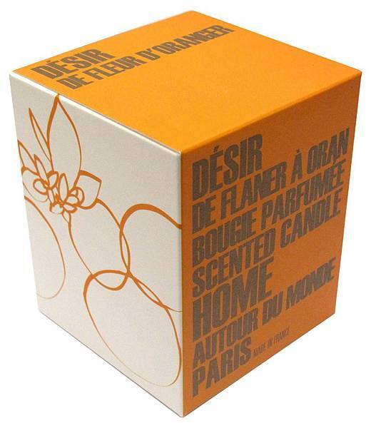 BENSIMON頂級香氛蠟燭-橙花香