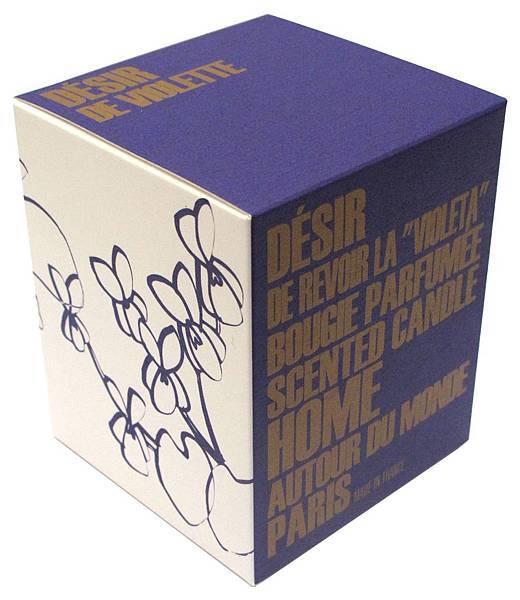 BENSIMON頂級香氛蠟燭-紫羅蘭香