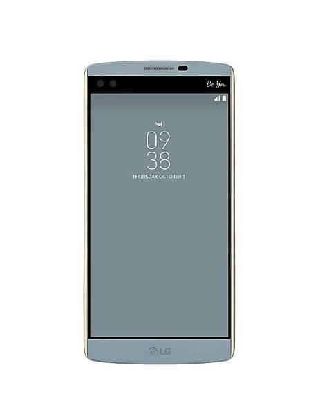 LG V10春節新色「湖光藍」,建議售價NT$23,900,21於中華電信獨家開賣,購買即贈「原廠電池充電組」。