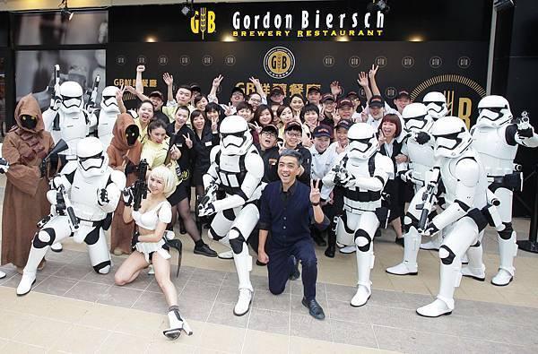GB鮮釀 林口三井Outlet店特邀Star Wars 501軍團原力助陣!_1