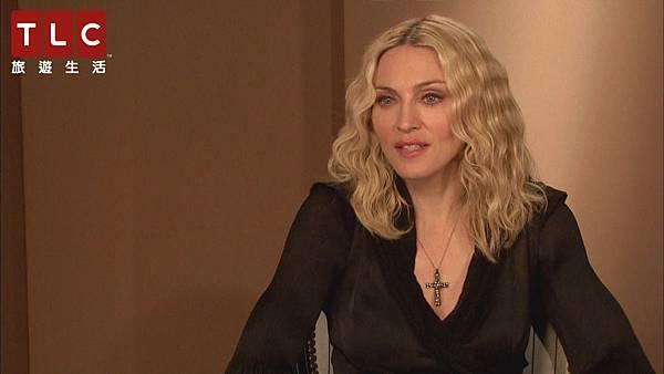 瑪丹娜接受訪問