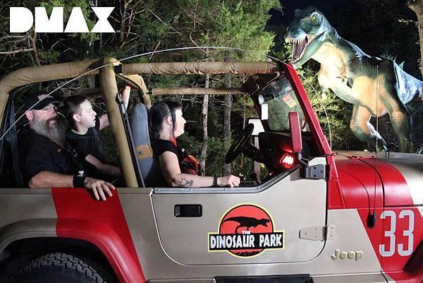 復刻經典吉普車遊恐龍公園 恐龍吼聲當喇叭