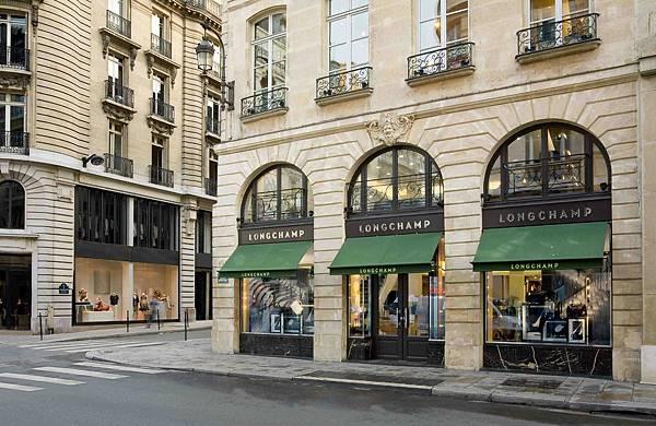3. Longchamp 巴黎 404 St-Honoré 總店