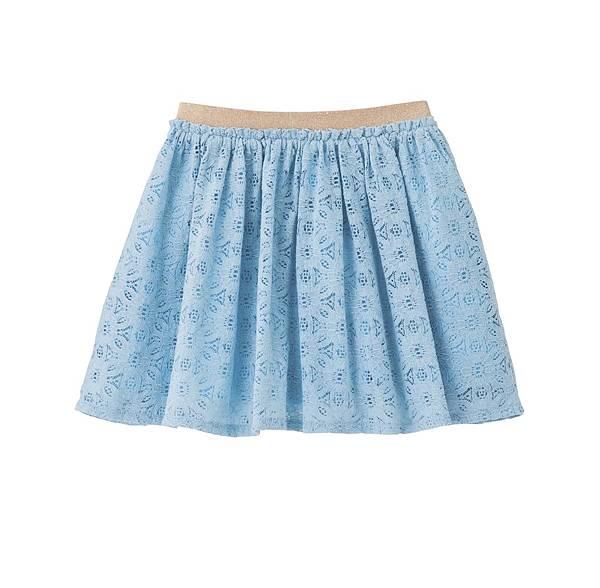311(五)每日限定特惠商品_女童蕾絲褲裙_NT250元