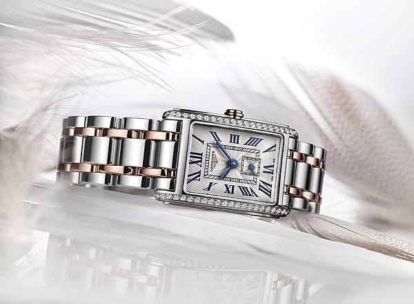浪琴表新多情系列雙色金鑲鑽腕錶(L5.255.5.79.7)_PR